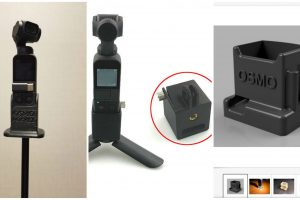 Cheap Osmo Pocket tripod adapters