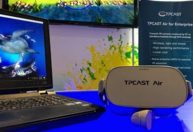 TPCast Air: Stream wirelessly from desktop to multiple VR headsets