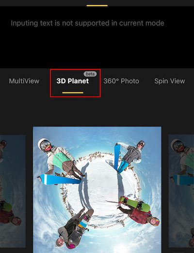 Insta360 One X 3D Tiny Planet (3D Planet)
