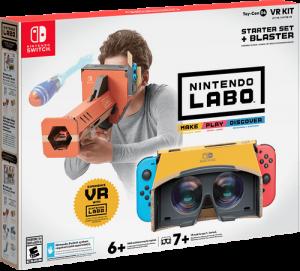 Nintendo Labo VR Starter Kit with Blaster