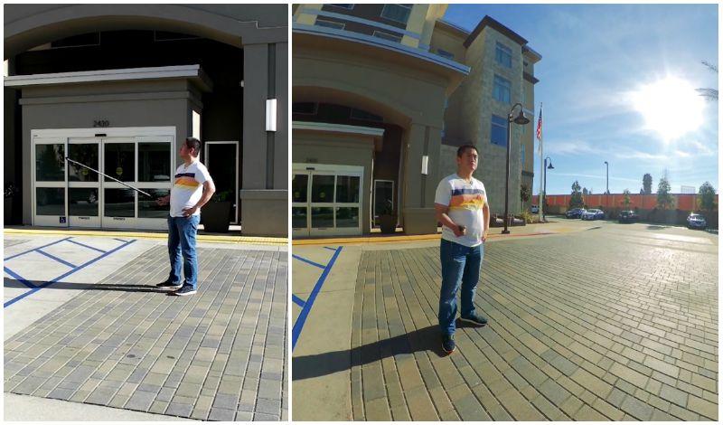 Camera move #4: circular parallax