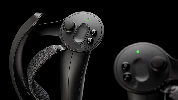 """Valve Index Controllers aka """"knuckles"""" can work with HTC Vive"""