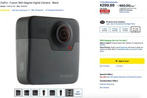 GoPro Fusion discount $299