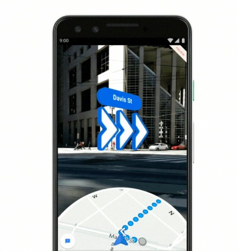 Google Maps AR walking directions rolled out to Pixel phones (I/O 2019)