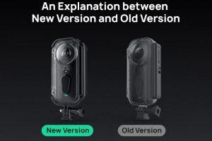 Insta360 One X Venture Case old vs new