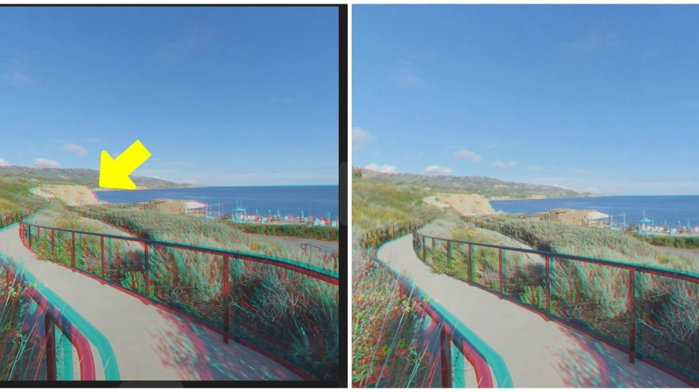 How to fix stereo disparity in Insta360 Evo or other VR180 cameras