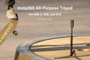 Insta360 Tripod Stand for Invisible Selfie Stick and other monopods