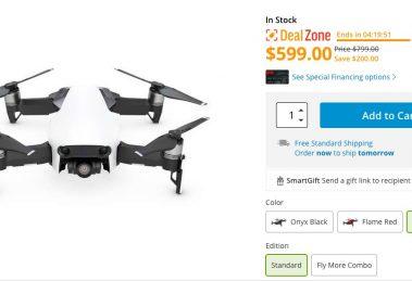DJI Mavic Air discount $599