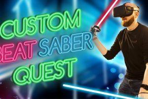 Custom Beat Saber songs on Oculus Quest