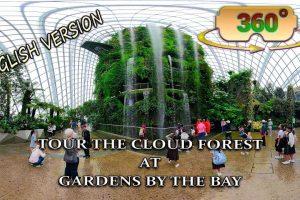 Tallest Indoor Waterfall 360 video