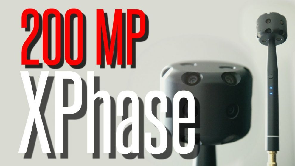 XPhase Pro Review: highest resolution 360 camera with 200 megapixels