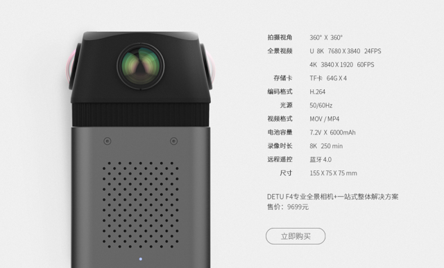 360 camera with 8k 24fps and 4k 60 fps - 360 Rumors