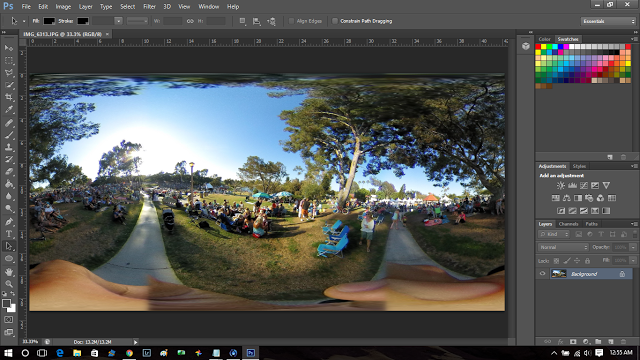 TECHNIQUE: How to rotate a 360 photo or a 360 logo or