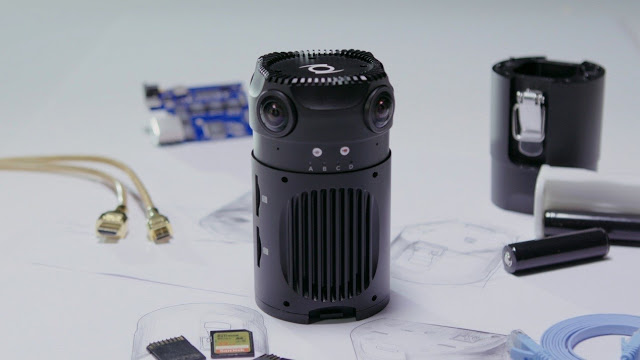 Z Cam S1 is a professional 360 video camera with 6k 30fps