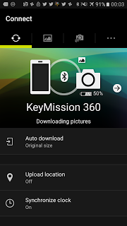 How to pair / connect the Nikon Keymission 360 with your iOS