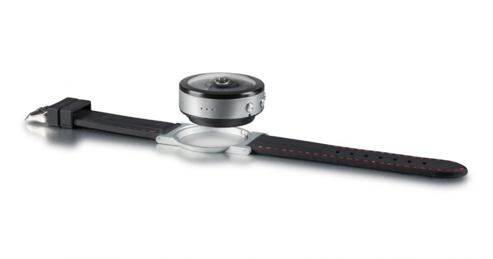 BeonCam 360 camera wristwatch