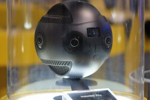 """First Lok"" at Insta360 Pro, an 8k 360 camera"