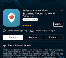 Periscope 360 is going to be available to the next group of beta testers