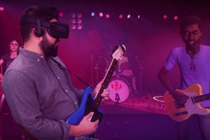 You can now preorder Rock Band VR (for Oculus Rift)!