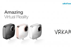 Sample 360 video from Ulefone VRKAM, a 360 camera accessory for Android
