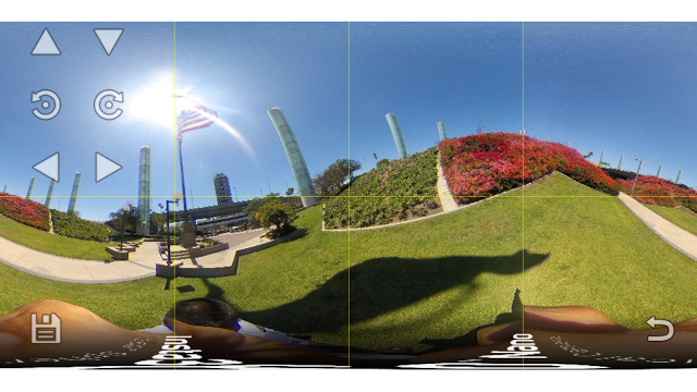 TECHNIQUE: edit360 for iOS straightens the horizon on your