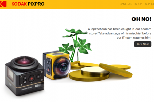 Deals: Kodak PIXPRO St. Patrick's Day sale