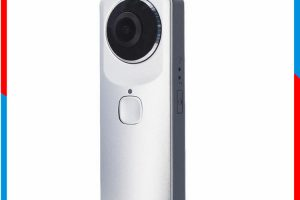 LG 360 Cam clone claims better specs than original, including 4k video, waterproofing