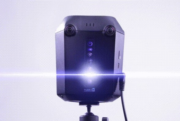 Hubblo VR PX6 4k 3D 360 camera with realtime stitching