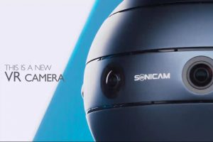 sonicam 360 live streaming camera with 3D audio