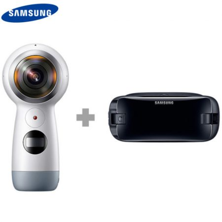 Retail versions of 2017 Samsung Gear 360 now available on eBay