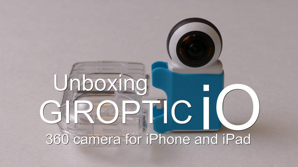 Giroptic iO unboxing