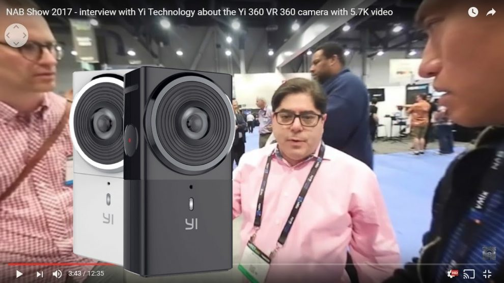 Interview with Yi Technology about the Yi 360 VR camera