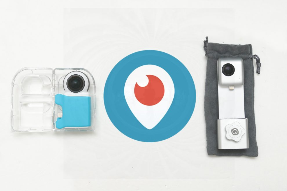 Twitter / Periscope 360 compatible cameras