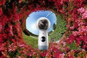 """2017 Samsung Gear 360, also known as """"the next Gear 360"""""""
