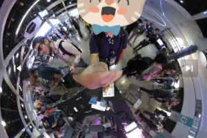 Insta360 Nano adds tiny planet live streaming and stickers