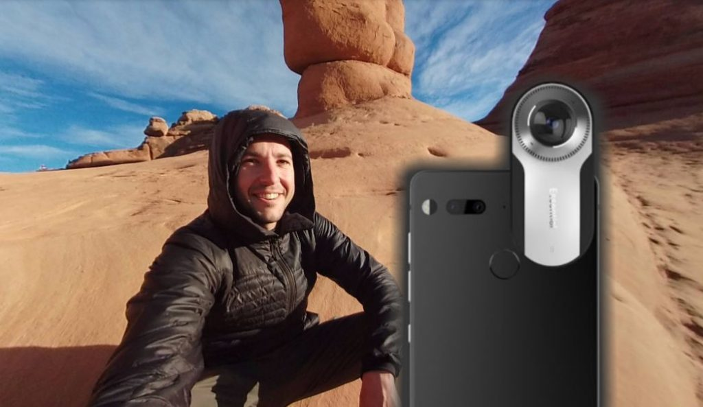 Essential Phone 360 camera features, specifications, sample photo and video