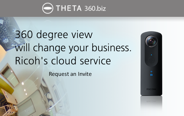 Ricoh creates virtual tour service for Theta