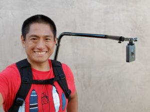 Hands-free third person view mount