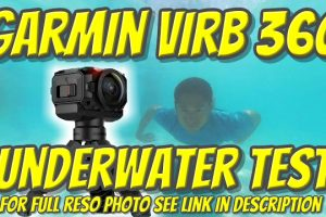 Garmin Virb 360 underwater 360 video and 360 photo