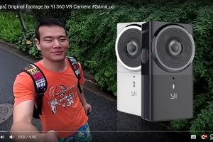 New 360 video sample from Yi 360 VR 5.7K 360 camera