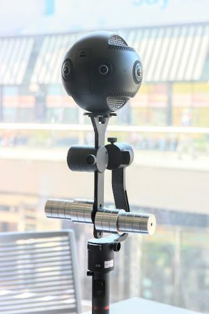Insta360 Pro on Moza Guru 360 Air gimbal
