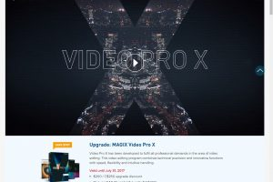 Magix Video Pro X stitches 360 videos on the fly
