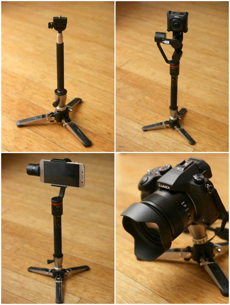 BeStableCam multipurpose mini tabletop tripod