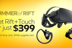 Oculus Rift + Touch sale for $399!