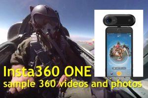 Insta360 ONE Sample 360 Videos & Photos