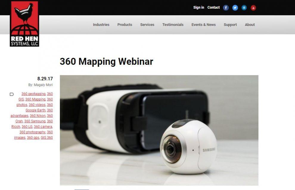 360 Mapping Webinar