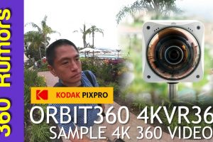 Kodak Orbit360 sample 4K 360 video