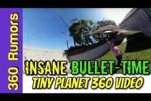 Bullet Time Tiny Planet 360 Video Tutorial