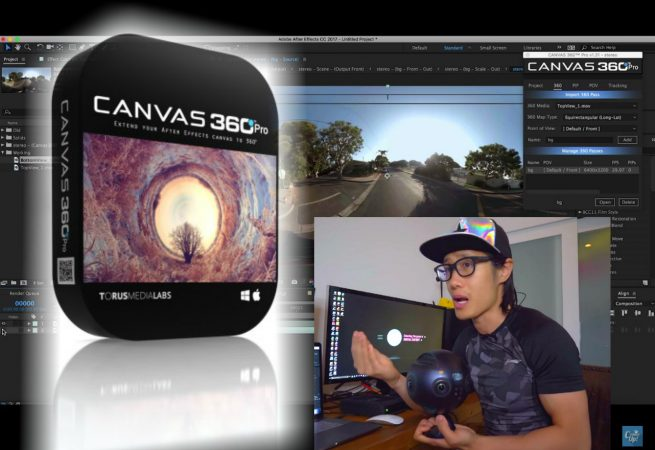How to Stabilize 3D 360 video with Canvas 360 Pro for After