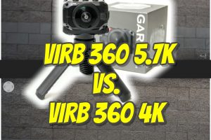 Garmin Virb 360 5.7K vs. Virb 360 4K comparison